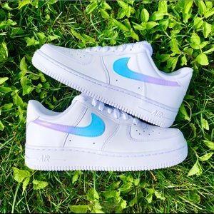 ⚡️Custom Nike Air Force 1 Shoes (Ombré)⚡️